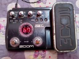 V/T Zoom G2.1u - EXCELENTE PEDALEIRA