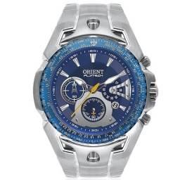 Relógio Orient Flytech Azul Titânio  Mbttc006