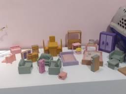 móveis para casinha