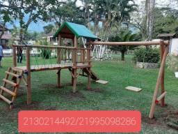 Play design em buzios Parquinhos madeira eucalipto em buzios