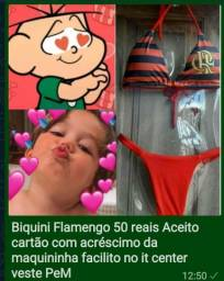 Biquini Flamengo