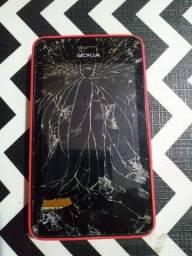 Celular Nokia asha 501 Para retirada de peça