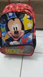 Mochila de carrinho escolar Mickey