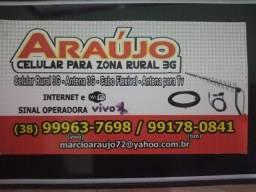 Celular Rural//Instalacao e venda..MONTES CLAROS E REGIÃO..