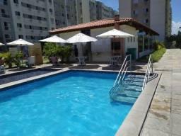 Semi mobiliado! 2qts com piscina em Candeias