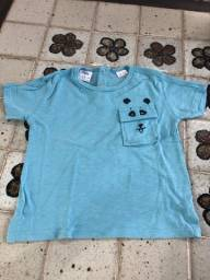 Camisa panda menino