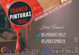 FRANCO PINTURAS E TEXTURAS