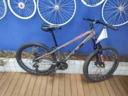 Bicicleta aro 26 mtb com suspensão