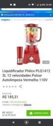 Liquidificador Philco semi novo 127v.