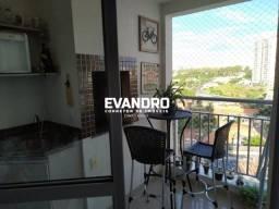 Apartamento para Venda em Cuiabá, Jardim Santa Marta, 3 dormitórios, 1 suíte, 2 banheiros,