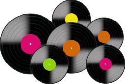 Coleção de Discos de Vinil