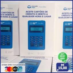 Máquina de cartão Mercado Pago Point Mini - Entrego e instalo!!!