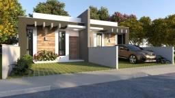 Casa Geminada para Venda em Joinville, Vila Nova, 2 dormitórios, 1 suíte, 2 banheiros, 2 v