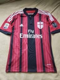 Camisa Milan Home 2014/15 - M - Menez #7
