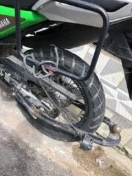 Engate para moto + carroça