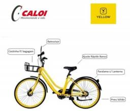 Bicicleta Amarela Aro 26