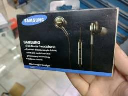Fone Samsung completo com microfone p2 reforçado
