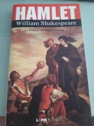 Livro Hamlet, de William Sheakespeare - versão de bolso