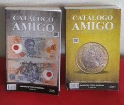 Catálogo Amigo 2021 dois em um cédulas e moedas