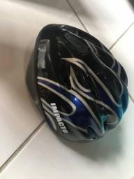 Capacete impacto de bike