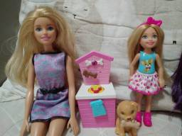 Kit Bonecas - Barbie e Chelsea