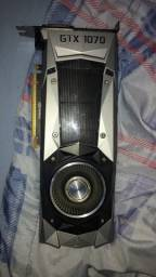 Placa de video GTX 1070 8GB Founders Edition