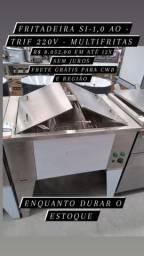 Fritadeira SI-1,0 AO Trif 220v - Multifritas