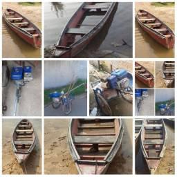 Canoa e Motor