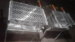 Churrasqueiras aluminio batido