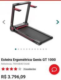 ESTEIRA ERGOMÉTRICA GENIS GT 1000<br><br>
