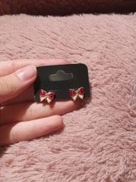 brinco borboleta vermelha | biju