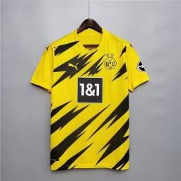 Camisa Borussia 2020/2021 Tailandesa Pronta entrega