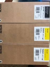 Tintas Epson Originais YellowT6064 e Preto T6148