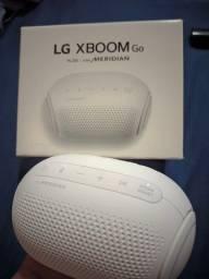 LG XBOOM GO PL2 caixinha de som Bluetooth na caixa