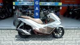 Honda Pcx 150 Abs 2020 Branca Garantia de Fábrica