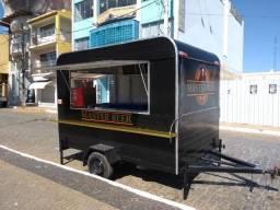 Treilher simples 3,00 para lanches açai sorvete food truck Minas Treilher Fábrica