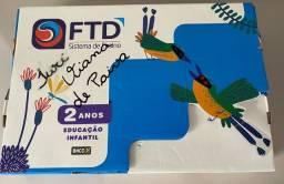 Kit livros FTD educação infantil 2 anos