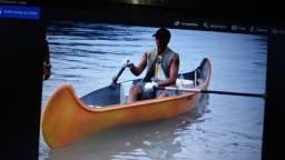 Canoa canadense fibra três pessoas