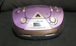 Som portátil MP3 com USB