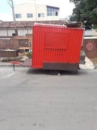 Food truck treiler para espetinho