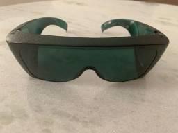 Oculos de proteção solar frontal e lateral - wrappers (usado) para concertar restauração
