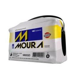 Bateria Automotiva Moura 60ah Vw Ford Fiat Gm