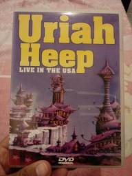 DVD Uriah Heep - Live in the USA