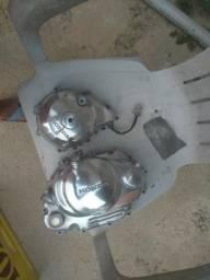 V/t tampas polidas fan 125/150,titan 150, bros 150