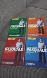Fascículos e CDs de vídeo aula de português