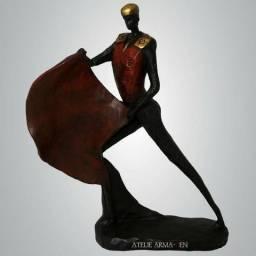 Toureiro Escultura Decoração Enfeite