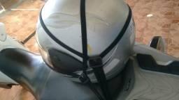 Elástico transporte capacete