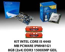 Barbada KIT Core i5 4440 + MB H81G + 8GB Ddr3 Geil