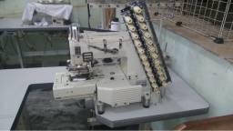 Máquina de costura - Elastiqueira 12 agulhas