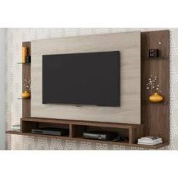 Painel para TV Malbec Carvalho Viena/Malte - Belaflex Para TV's de até 55 polegadas
